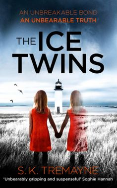 THE ICE TWINS, a terrifying psychological thriller set in the Isle of Skye, with a twisting plot that will knot you up. One of Angus and Sarah's identical twin daughters died - but can they be sure which one? As the family tries to reconnect in Torran, their lives are unhinged as  secrets unravel.