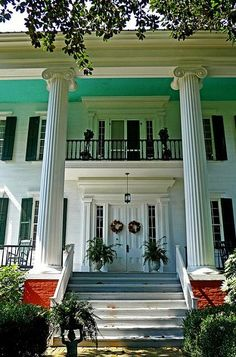 164............Eutaw, AL - William Perkins House (built 1850s) a set by Rural SW Alabama USA