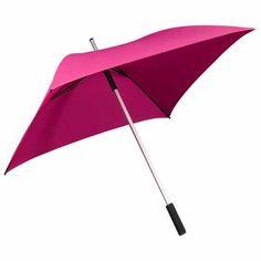 Square Shaped Full Length Umbrella Pink   Umbrella Heaven