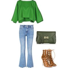 how to style flared jeans 3