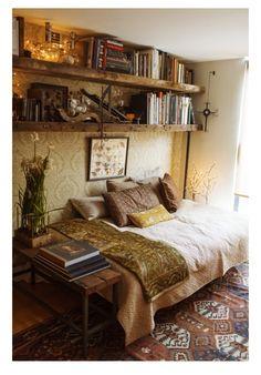 Bookish bedroom