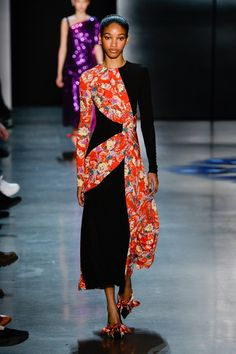 The complete Prabal Gurung Fall 2018 Ready-to-Wear fashion show now on Vogue Runway.