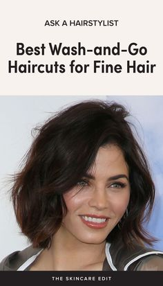 The Best Wash and Go Haircuts for Fine and Wavy Hair