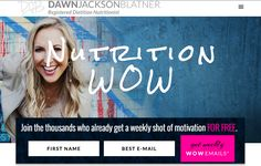 Sign Up for My #Nutrition WOW Emails! http://dawnjacksonblatner.com/#utm_sguid=165470,08d9c3a6-8bcf-56fe-4500-c72b67f9c12d