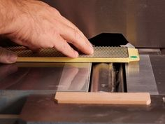 How to Sharpen Jointer Knives in-Place - YouTube