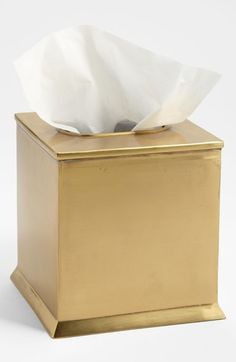 $75 too much for a tissue box cover for my office? An elegant yet approachable office tissue box cover is harder to find than one would think.