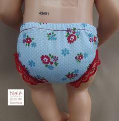 Look confeccionado em tricoline.  Acompanha jardineira com bolsinho frontal, calcinha, sapatinho e tiara.  Veste as baby Alives menores (30 cm) : BABY ALIVE, FESTA DO PIJAMA, BONS SONHOS, ESCOLINHA, HORA DE DORMIR, HORA DO CHÁ, LANCHINHOS DIVERTIDOS, CUIDA DE MIM, BORBOLETINHA.    BONECAS NÃO INC...