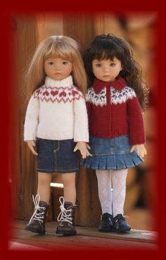 """""""Colvin"""" Skirts Two-Pack #2 for 13"""" Effner Little Darling Studio Dolls"""