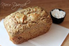 chleb Dukana Dutch Apple Bread Recipe, Bread Recipes, Banana Bread, Healthy Living, Rolls, Cooking, Desserts, Food, Interior Sketch