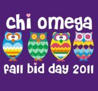 chi omega bid day tshirt. so cute! definitely different tshirt color!