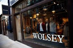 Wolsey Menswear in Soho London