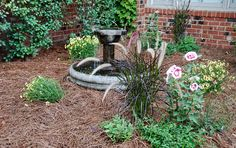 Our new fountain - a find at John Deere!