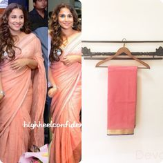 stylish vidya. |Chanderi sari|For enquiries email at devaya.designs@gmail.com
