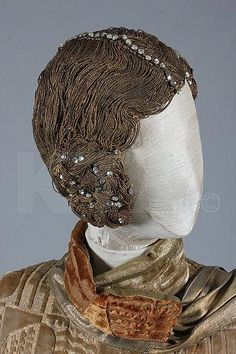 Gold cord wig, 1920s