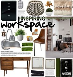 """""""Inspiring Workspace"""" by emmy on Polyvore"""