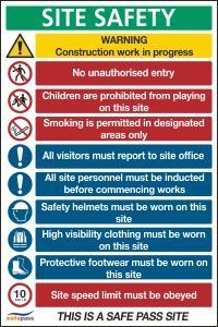 Construction Signs | CSS Signs Shop Site Office, Construction Signs, Designated Area, Signwriting, Gym Design, Shop Signs, Workplace, Safety, Printable