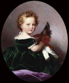 """Franz Xaver Winterhalter, """"Prince Arthur"""", 1852"""