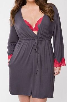 8e17e1a026 Cacique Solid Plus Size Sleepwear   Robes for Women
