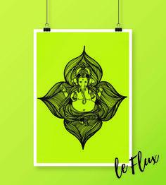 LE FLUX  #art #design #decor #paint #leflux #art #arts #ganesh #ganesha #india