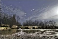 El puente viejo de Astudillo.