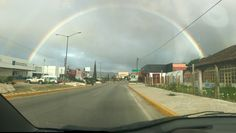 Increíble #arcoíris. #chiapas #movil #rainbow #colours