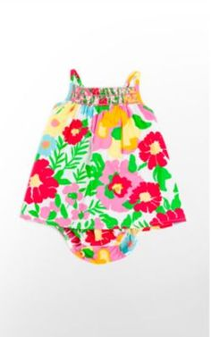 So cute. She needs her first Lilly piece  http://www.lillypulitzer.com/product/Lala-Infant-Dress/3968.uts