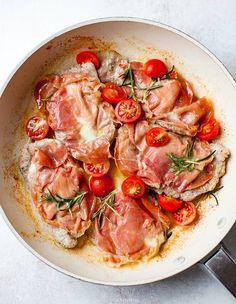 Polędwiczki wieprzowe z mozzarellą