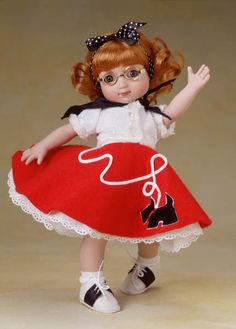 Robert Tonner - Mary Engelbreit® Collection - Dressed Dolls - Scottie Skirt & Saddle Shoes #ME 0201
