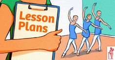 """""""Planning Your Lessons"""" from TheBalletSource.com Use coupon PINTEREST10 to save 10% off your purchase!"""
