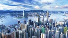Hong Kong has the most skyscrapers in the world. With skyscrapers Hong Kong has almost twice as much as the city of New York. Hong Kong, Places To Travel, Places To See, Travel Destinations, Travel Tours, In China, Jennifer Lawrence, Day Tours, Aerial View