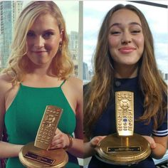 """""""E!'s 2015 Best Ever TV Awards: Best Kiss and Best Guest Star @DebnamCarey @MisElizaJane #The100"""