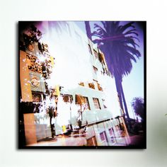 Fluorescent Palace Hotel Coast Graphic Art on Canvas & Reviews | Wayfair