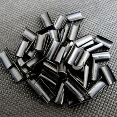 Black Keratin Bonding Glue Granule for U-tip Hair Extensions 100 Pieces only $9.9 Type Of U-Tip (Nail Tip):Keratin Bonding Glue Granule Shape Rebonds Applying With:Keratin Hot Pot, Heat Connector Wand Iron, Pliers Use For Re Tip Hair Extensions:Make Your Own Tips From Bulk Or Weft To Extensions Packing Contents: 100 Pieces Origin:Made In China U-Tips Size:1.1cm * 0.6cm Material: Made with High Quality Keratin Resin
