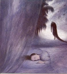 Angela Barrett (British, b. Essex, England) - Illustrations for Beauty And The Beast by Max Eilenberg, Paintings: Watercolors Barrett, Inspiration Artistique, Medieval Tapestry, Classic Fairy Tales, Children's Book Illustration, Book Illustrations, Mythical Creatures, Macabre, Beauty And The Beast