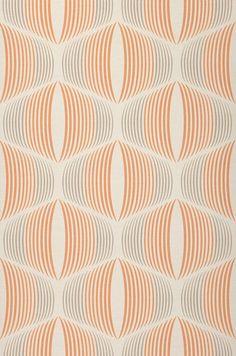 Morena | Papier peint géométrique | Motifs du papier peint | Papier peint des années 70