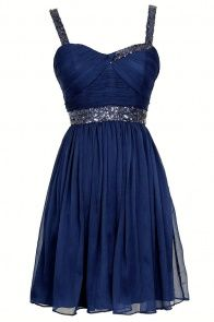 Sparkle and Shine Chiffon Designer Dress by Minuet in Royal Blue~ This is a great website for cocktail dresses!