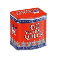 A beautifully designed Emma Bridgewater Diamond Jubilee Bow Fronted Tea Caddy, a souvenir that is stylish and useful too. This will be a perfect way to remember that our sovereign has been 60 Years a Queen.