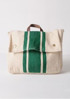 School Bag Wool - Green via Bobo Choses. not sure if it's a backpack or not.