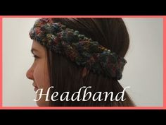 How to Easy Loom Knit a Braided Headband / Ear Warmer (DIY Tutorial) - YouTube