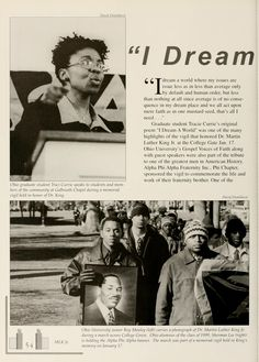 "Athena yearbook, 2000. "" I Dream a World...""  :: Ohio University Archives"