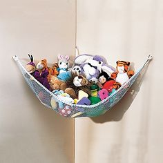 http://www.onestepahead.com/product/Toy-Net-Hammock-for-Stuffed-Animals/_/R-680?cm_ven=RKG_GoogleBase_cat=OSA_Non-Brand_pla=GoogleBase_ite=GoogleBase=2=CLvN3vj7hrYCFUWd4Aod8joApA    for loveys (attached to wall/wardrobe)?
