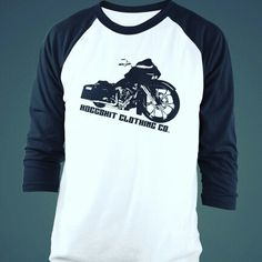 c94f8fa6 Hoggshit clothing baseball tee's harley riders #roadglide www.bhrgear.com  use code :hoggshit101 for 30% off the entire site!