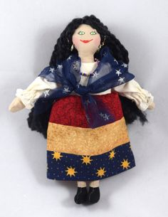 Gypsy Doll  Art Doll  Toy Doll  Fortune Teller by JoellesDolls