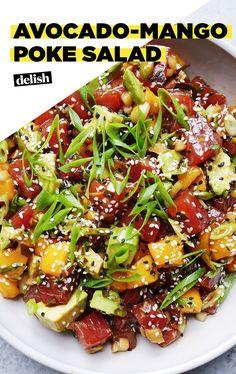 Sushi Recipes, Asian Recipes, Dinner Recipes, Cooking Recipes, Healthy Snacks, Healthy Eating, Healthy Recipes, Fresh Tuna Recipes, Seafood Dishes