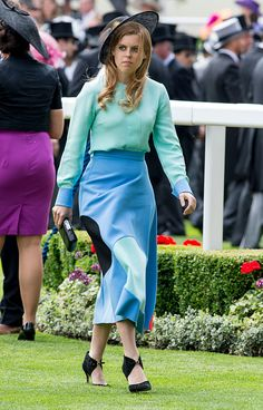 Princess Beatrice on June 16, 2015 in Ascot, England.