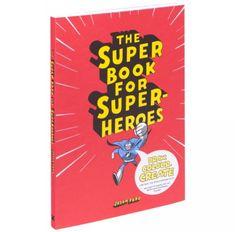 Superhelden boek