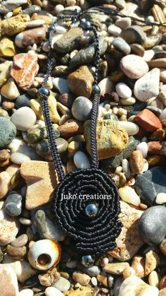 Neck lace macrame by Juko creations