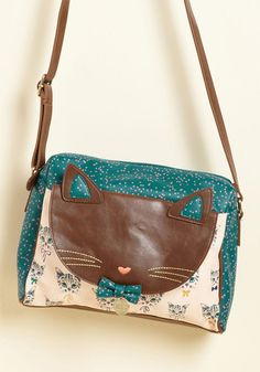 Where There Are Whiskers Bag, @ModCloth
