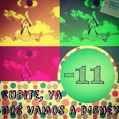 #Cuentaregresiva !  #D15NEY con #susanapirizviajes www.mis15disney-susanapiriz.com