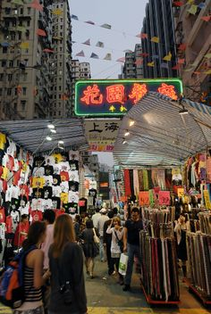 Ladies' Market or Ladies' Street, Kowloon, Hong Kong | by Kevin Lau on Flickr
